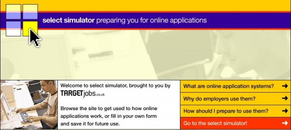 Select Simulator - Application Form Preparation